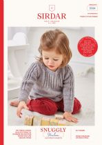 Sirdar Snuggly Heirloom DK Knitting Pattern Booklet - 5324 Smoked Sweaters